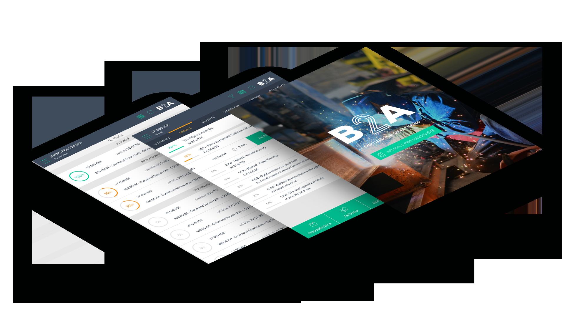 B2A Aplikace pro pracoviště