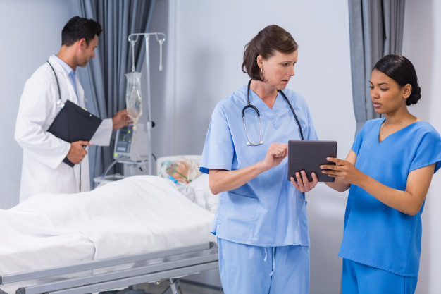 using of iPads in healthcare